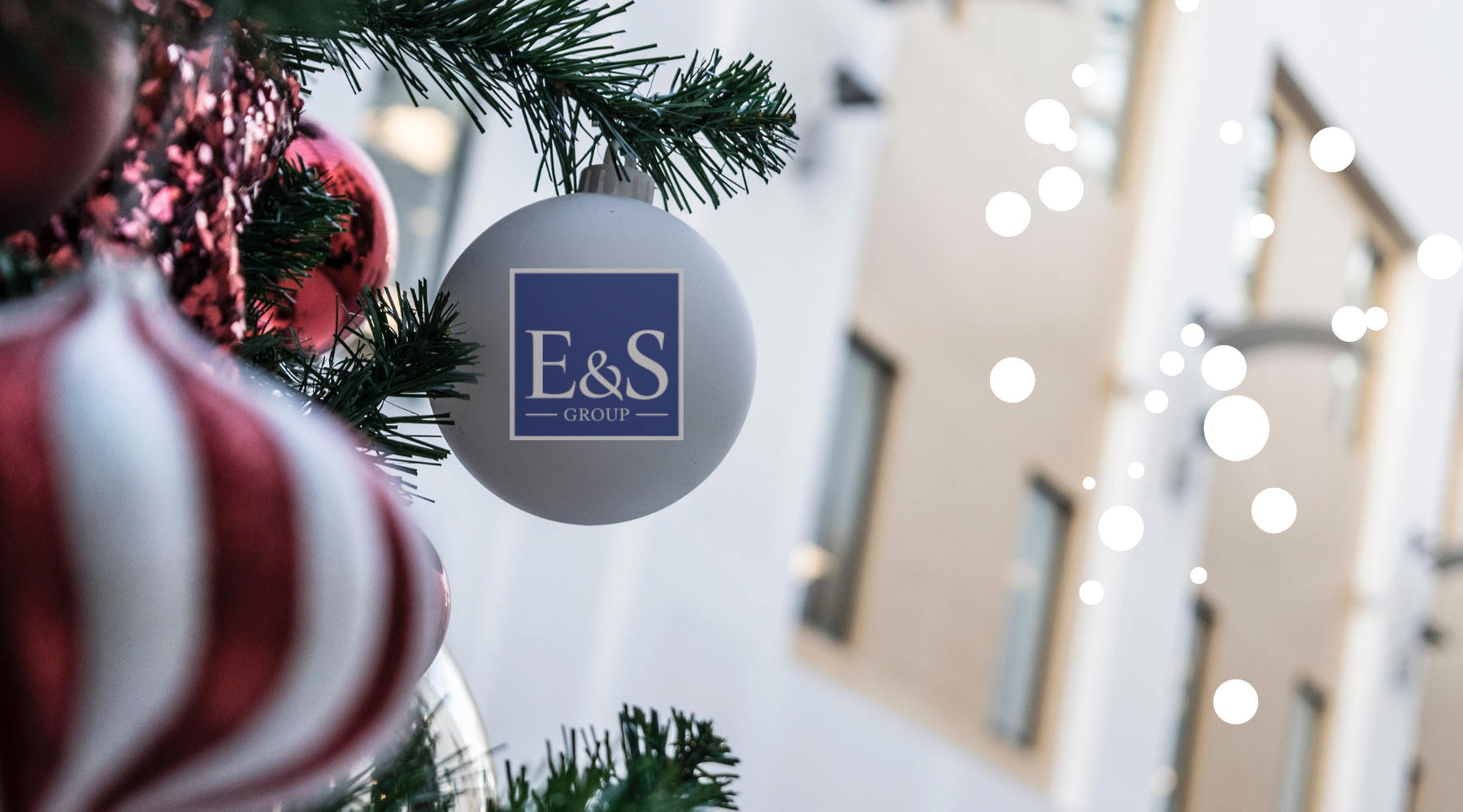 'It's the season to be Jolly' Happy Holiday from the E&S Team